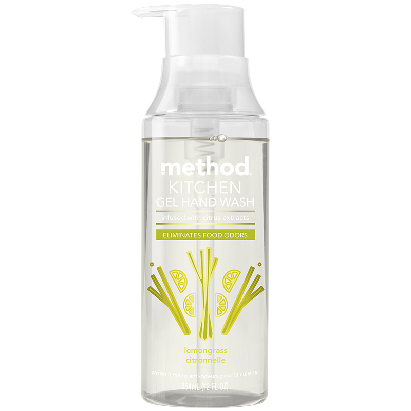 Method Kitchen Gel Hand Wash - Lemongrass - 354ml