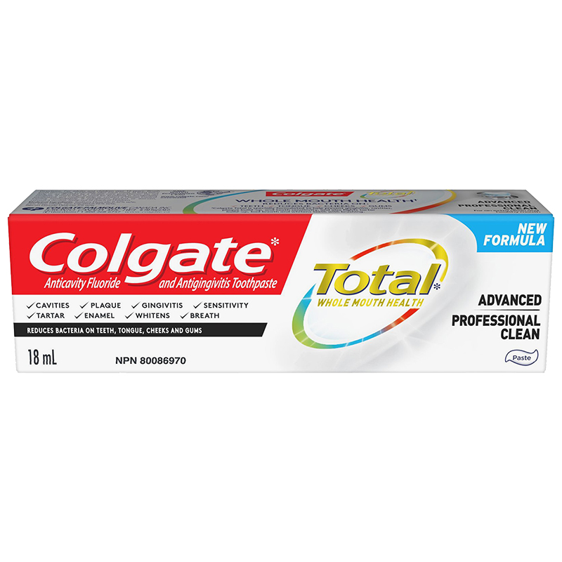 Colgate Total Advanced Professional Clean Toothpaste - 18ml