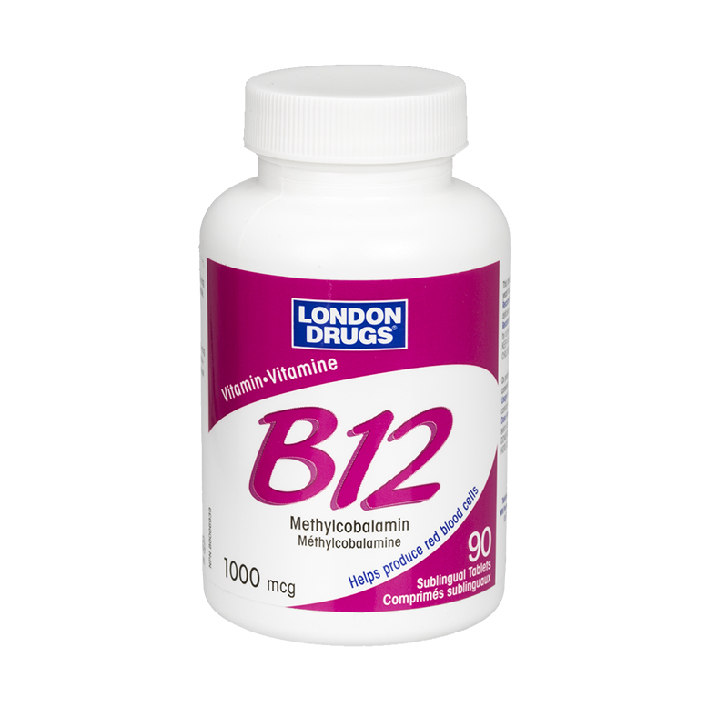 London Drugs B12 - 1000 mcg - 90's