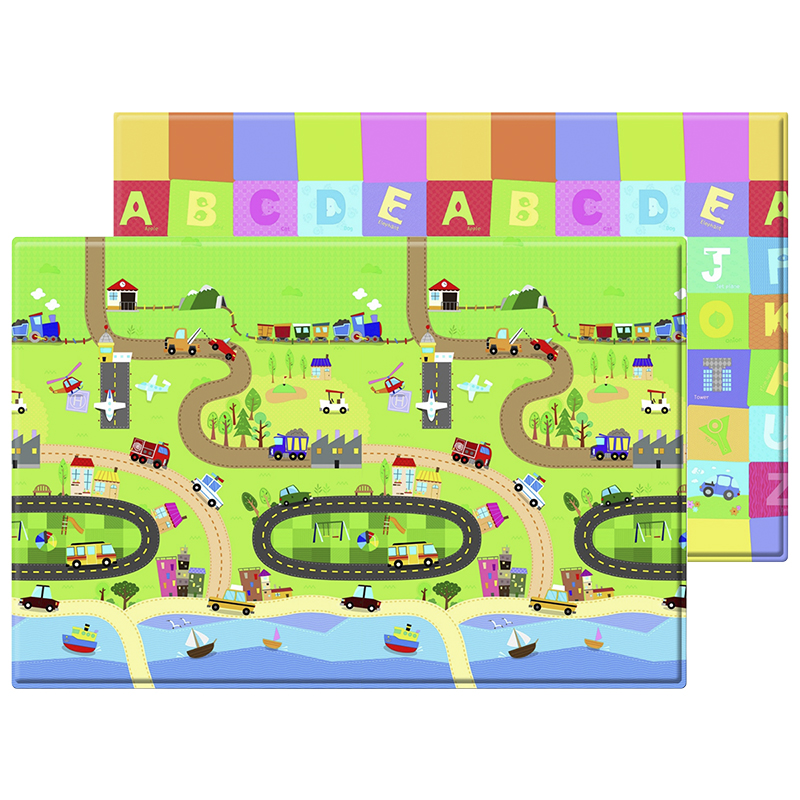 Baby Care Soft Playmat - Happy Village - Large