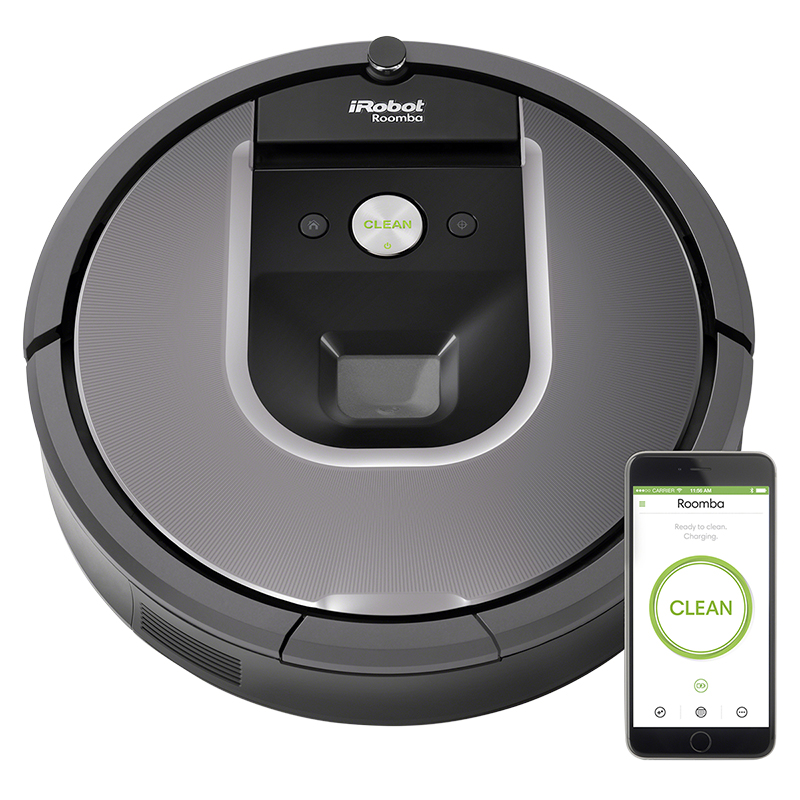 iRobot® Roomba® 960 Wi-Fi Connected Robot Vacuum - Black - R960020