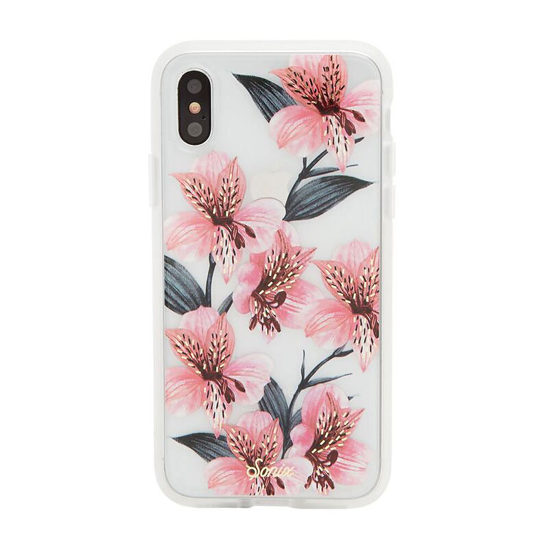 Sonix Clear Coat Case for iPhone X - Tiger Lily - SX27601790011