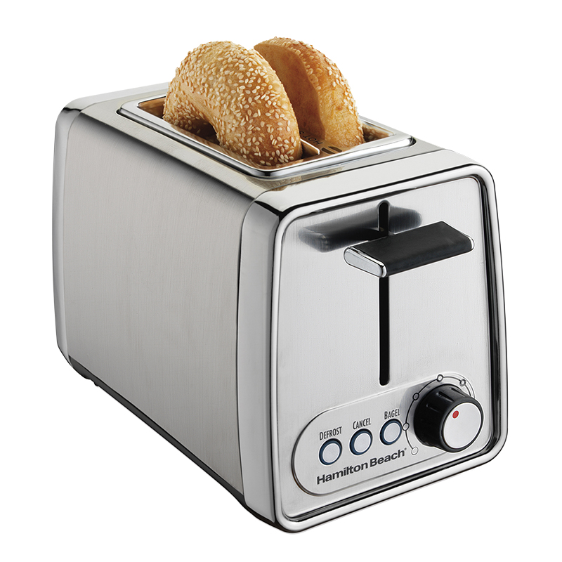 Hamilton Beach 2-Slice Toaster - Chrome - 22791C