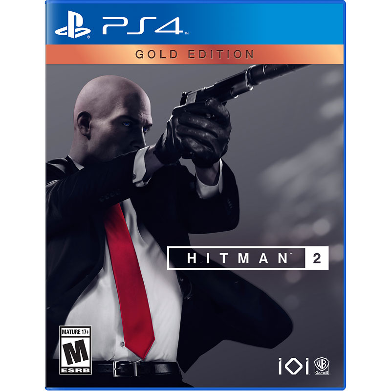PS4 Hitman 2: Gold Edition