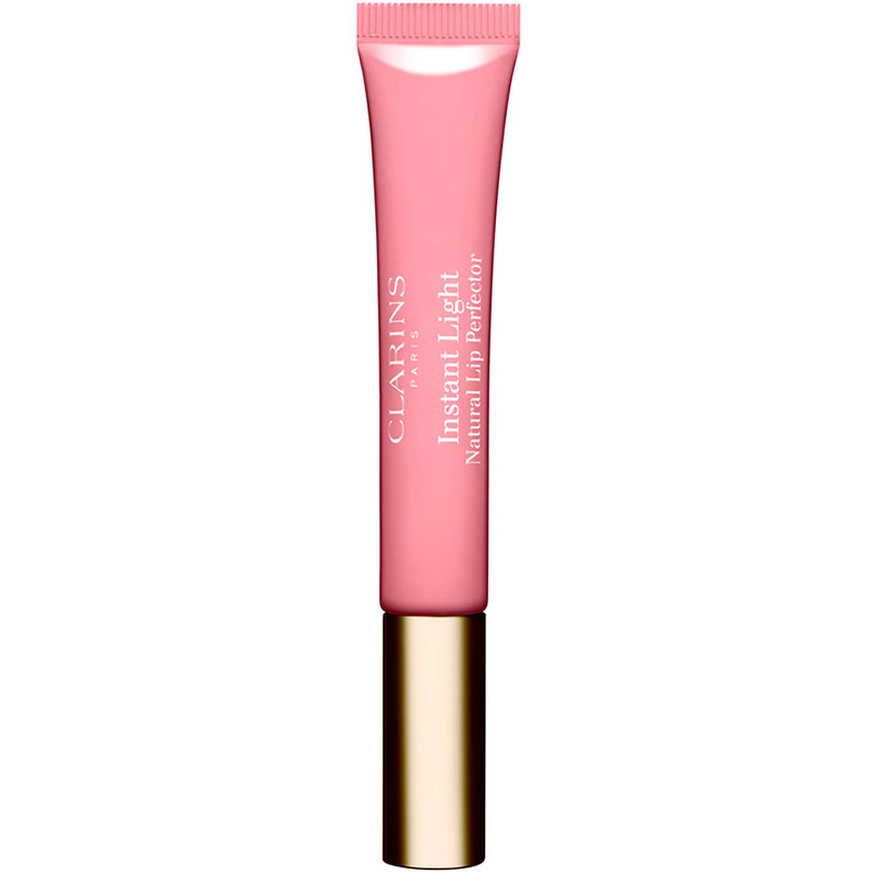Clarins Instant Light Natural Lip Perfector - 01 Rose Shimmer