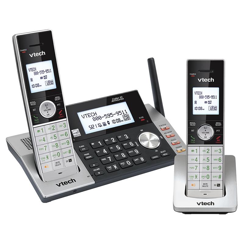 VTech 2 Handset Cordless Digital Answering System