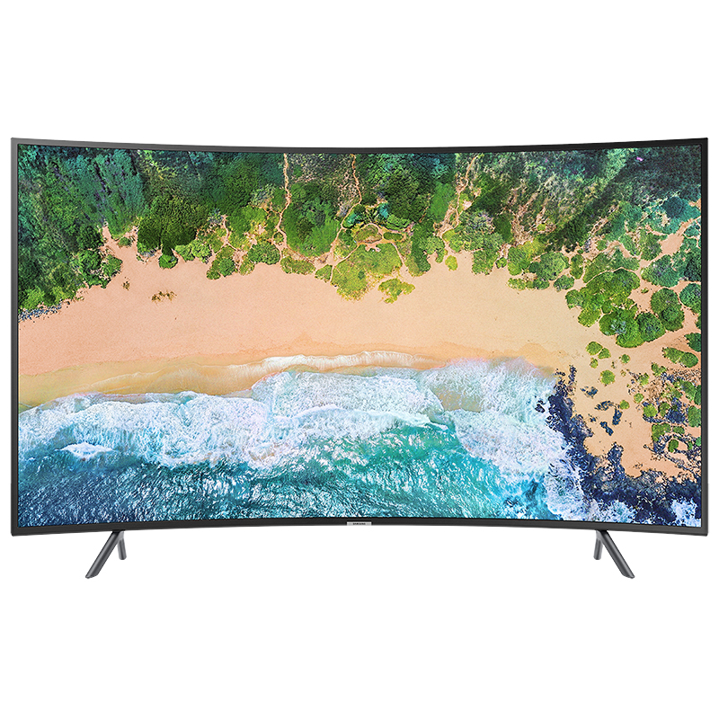 Samsung 55-in 4K UHD Curved TV - UN55NU7300FXZC