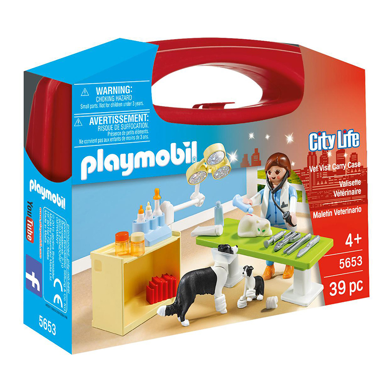Playmobil Carrying Case Vet - 56535
