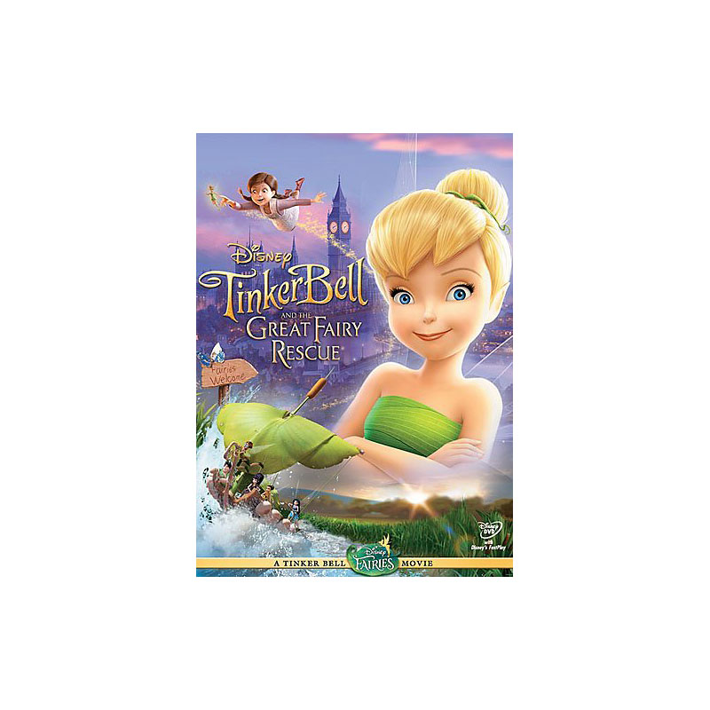 Tinker Bell And The Great Fairy Rescue - DVD