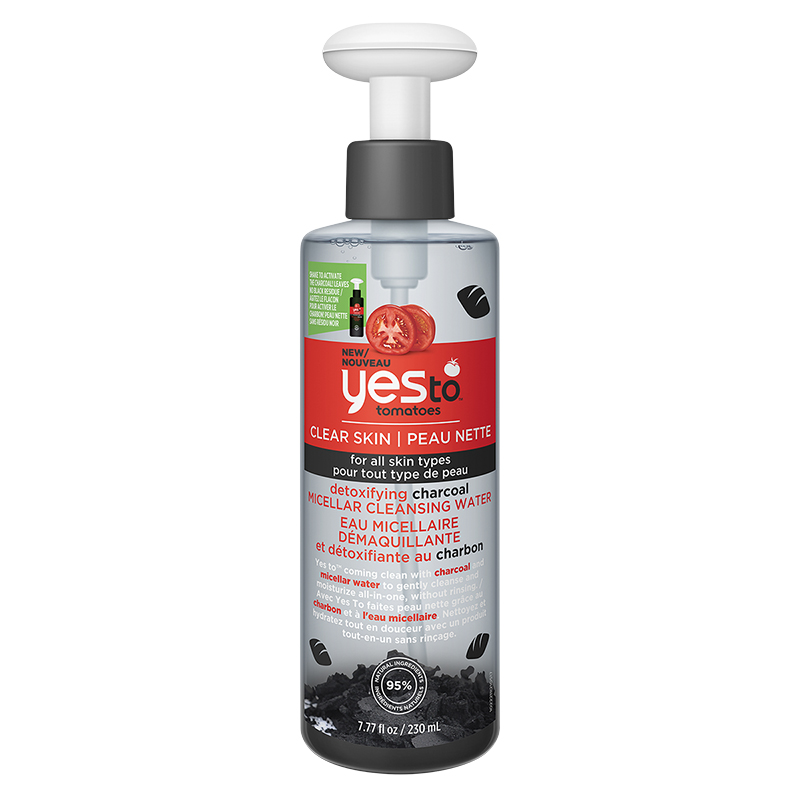 Yes To Tomatoes Detoxifying Charcoal Micellar Water - 230ml