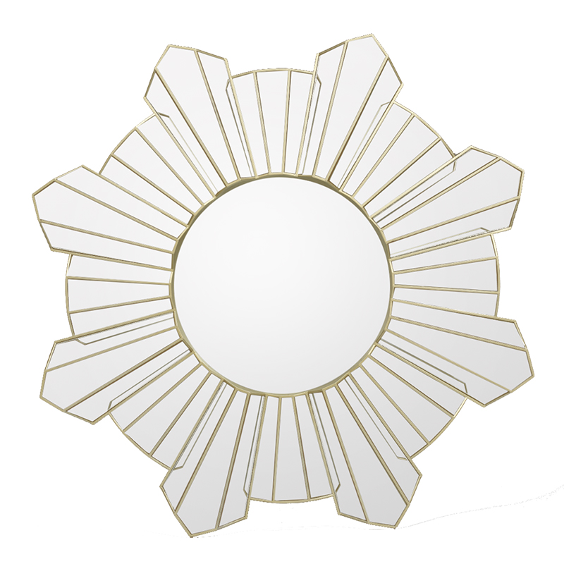 London Drugs Wall Mirror - Sun Star