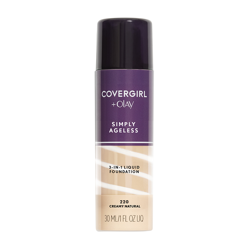 CoverGirl & Olay Simply Ageless 3-in-1 Liquid Foundation - Creamy Natural