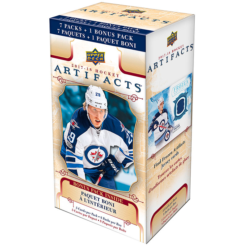 2017/18 NHL Artifacts Blaster Pack