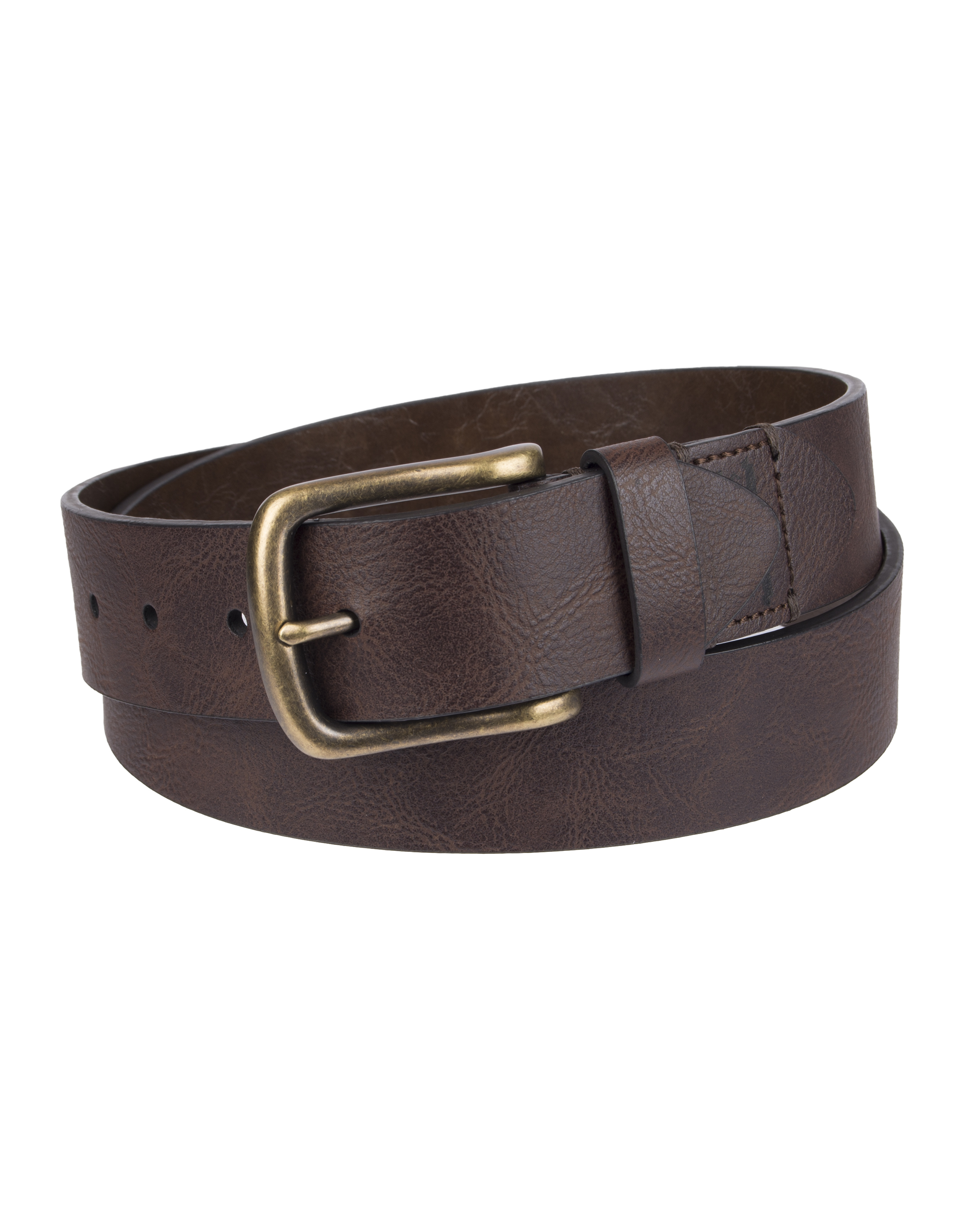 Levi's 38mm Men's Belt Tabbed Cut Edge with 2-Horse Logo