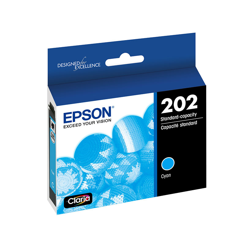 Epson 202 Claria Ink - Cyan - T202220-S