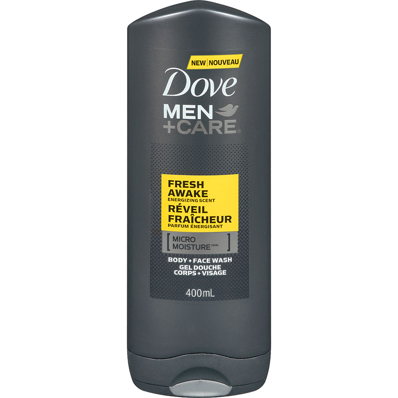 Dove Men +Care Fresh Awake Energizing Scent Body & Face Wash - 400ml