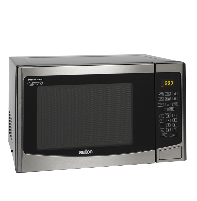 Salton 1.2 cu.ft. Microwave - Stainless Steel - 30PX98F