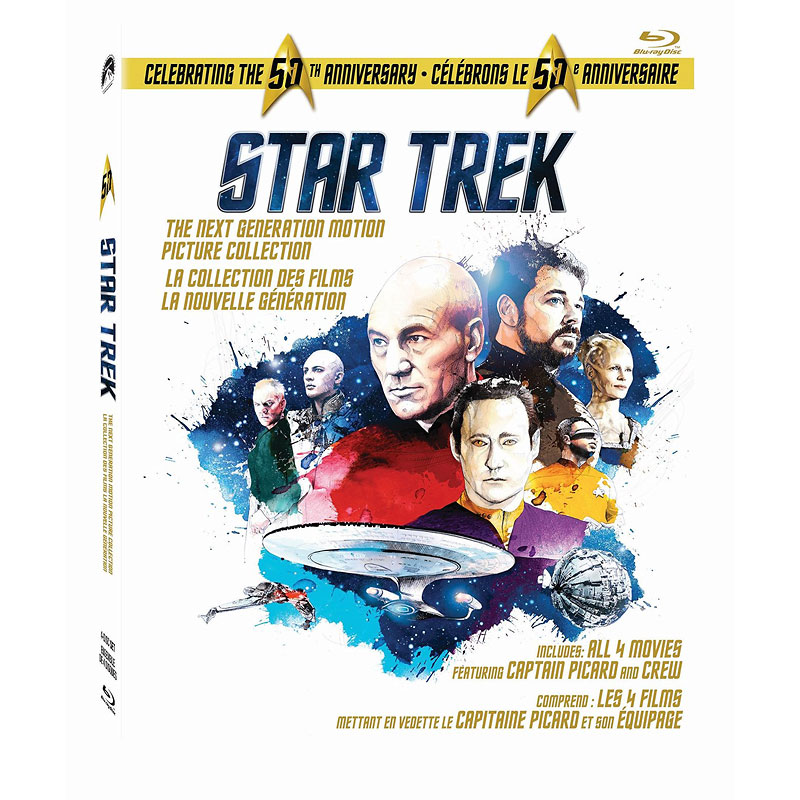 Star Trek: The Next Generation Motion Picture Collection - Blu-ray