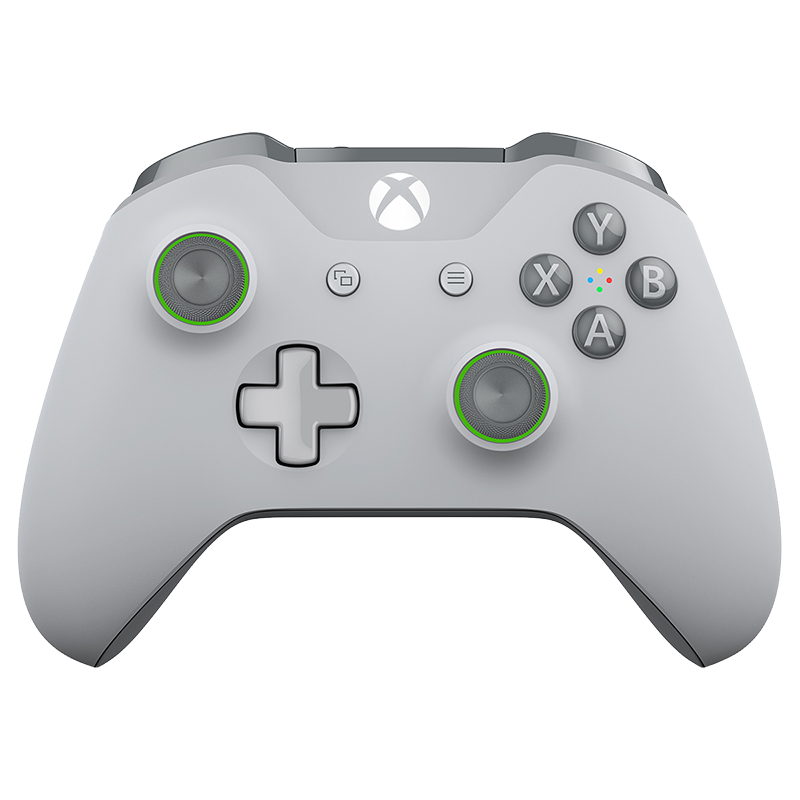 Microsoft Xbox Wireless Controller - Grey/Green - WL3-00060