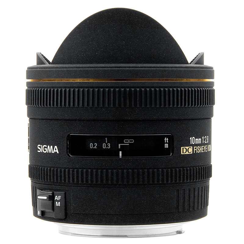 Sigma EX DC 10mm f2.8 Fisheye Lens for Nikon - EXDC10HN