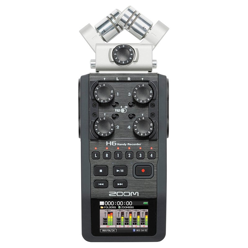 Zoom H6 Handy Recorder - H6