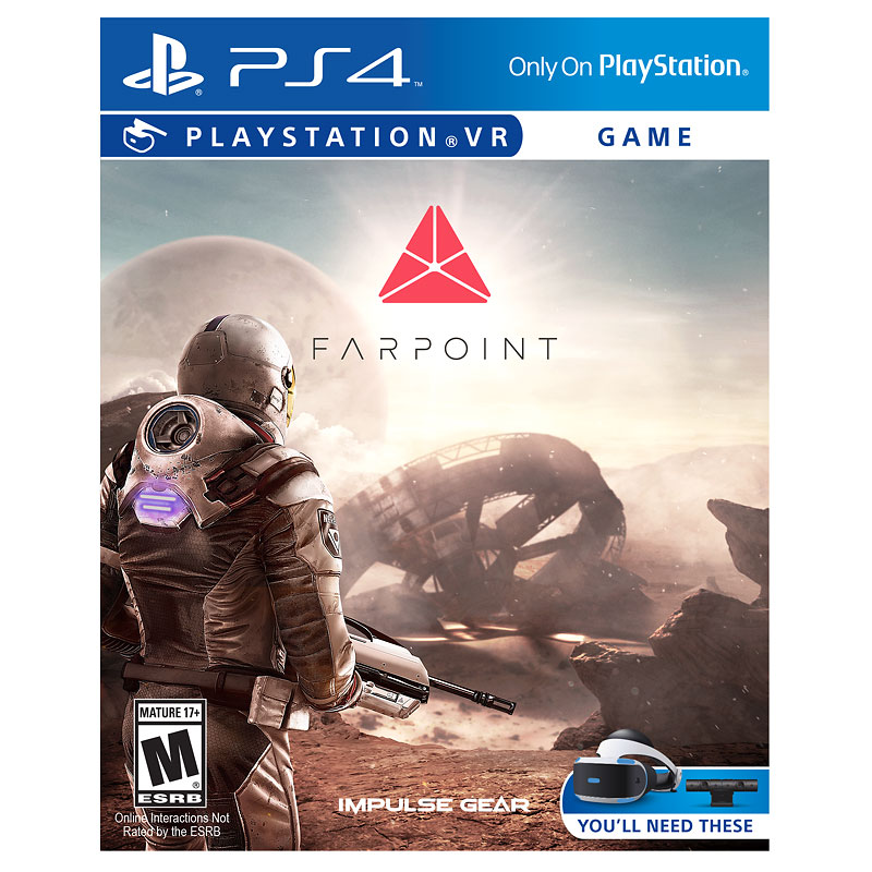 PS VR Farpoint