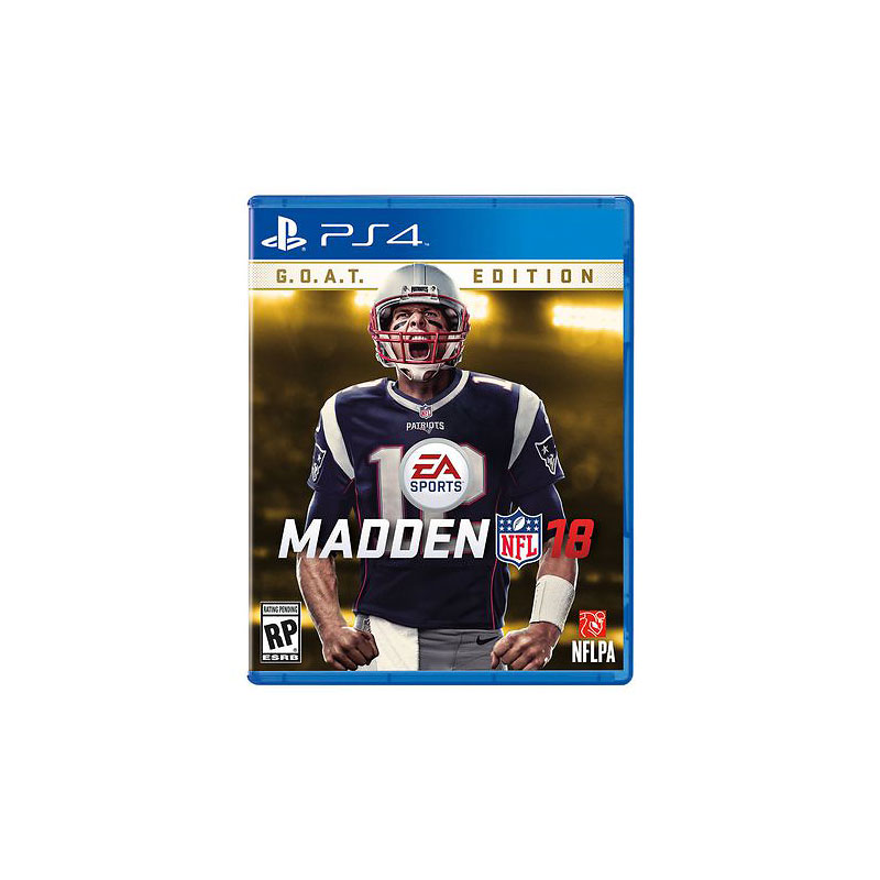 PS4 Madden NFL 18 GOAT Edition