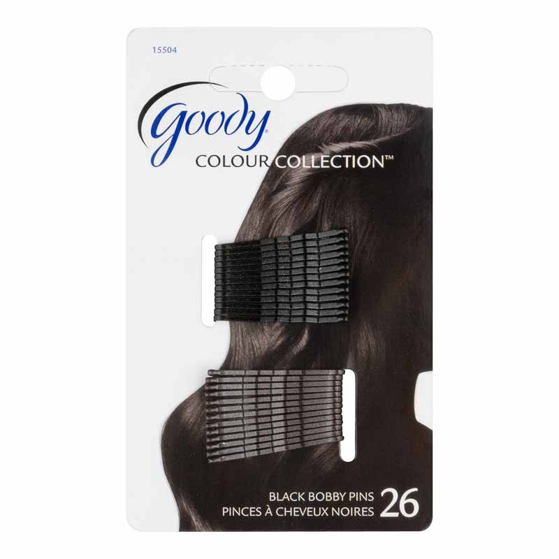 Goody Colour Collection Bobby Pins - Black - 26's