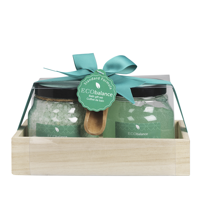 ECObalance Scrub/Salt Set - Minted Grapefruit - 2 piece