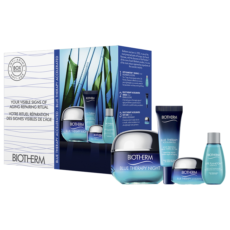 Biotherm Blue Therapy Accelerated Night Set - 4 piece