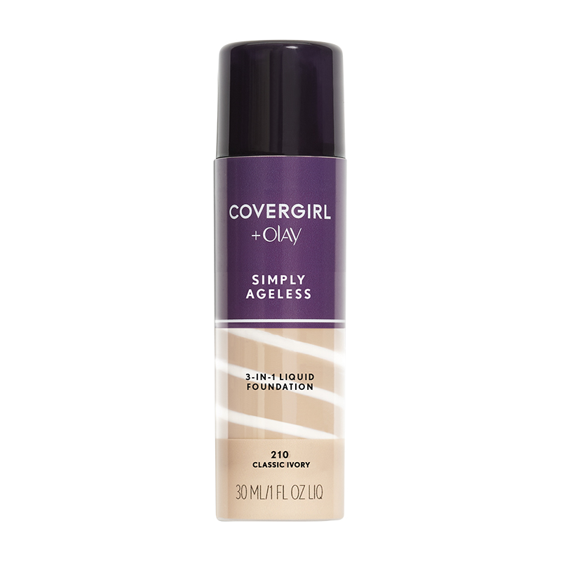CoverGirl & Olay Simply Ageless 3-in-1 Liquid Foundation - Classiv Ivory
