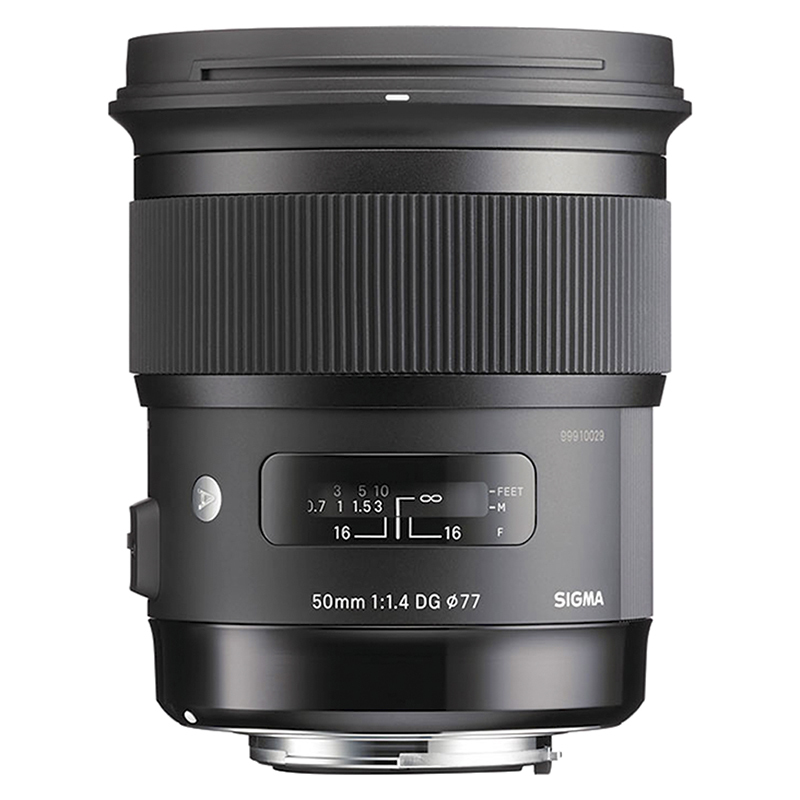 Sigma Art 50mm F1.4 DG HSC Lens for Sony - A50DGHAS