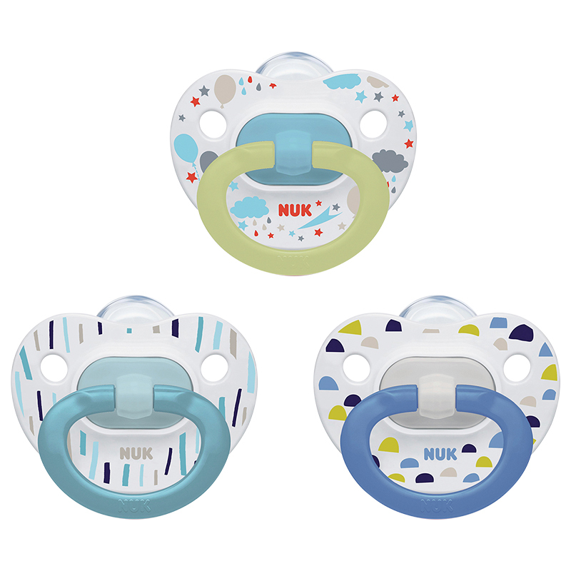 Nuk  Orthodontic Pacifiers Value Pack - Size 1 - Assorted