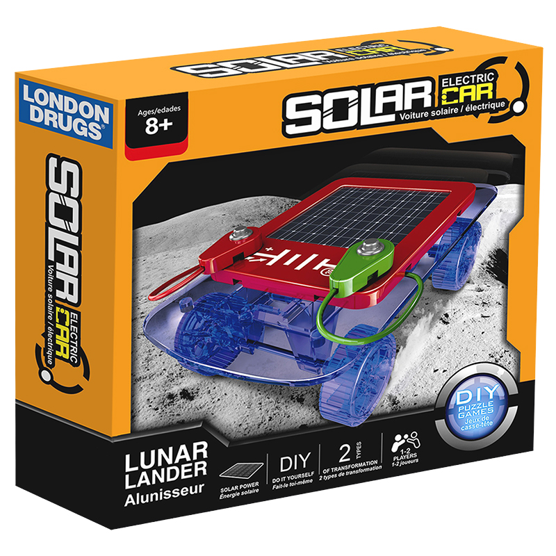 Solar Powered Electric Motor Kit: Solar Electric Car Kit - ST1150