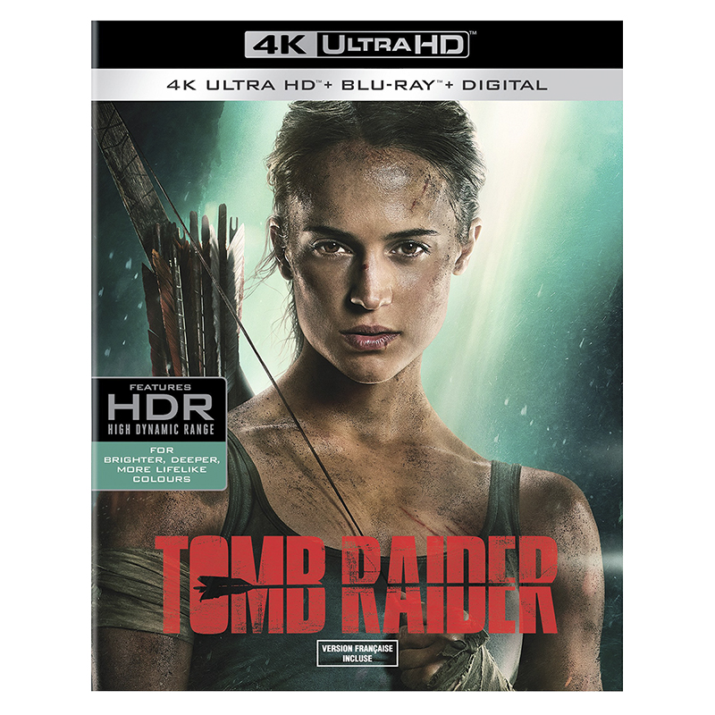 Tomb Raider - 4K UHD Blu-ray