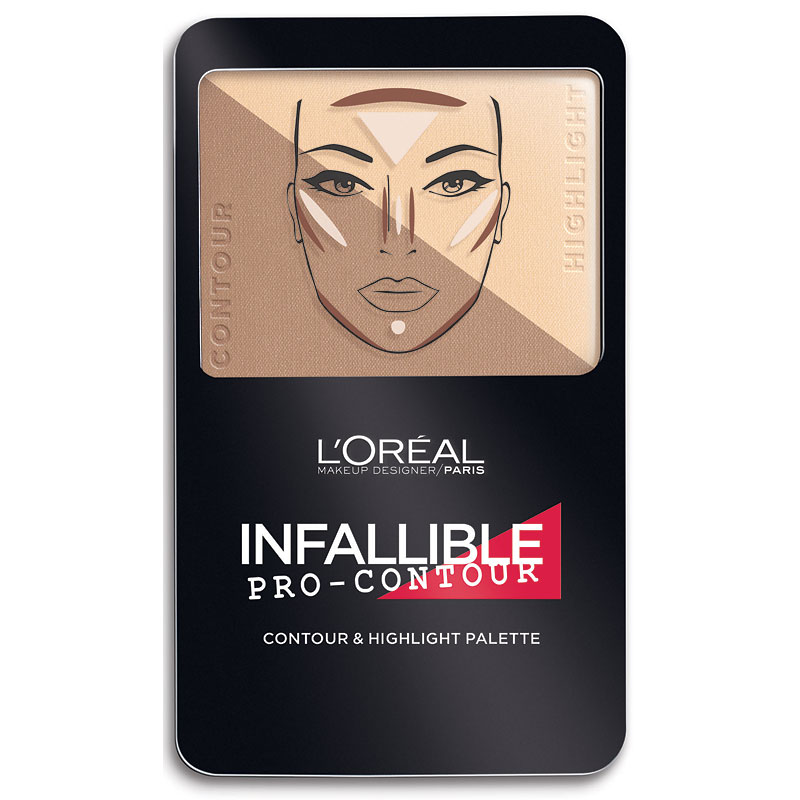 L'Oreal Infallible Contour Palette - Light