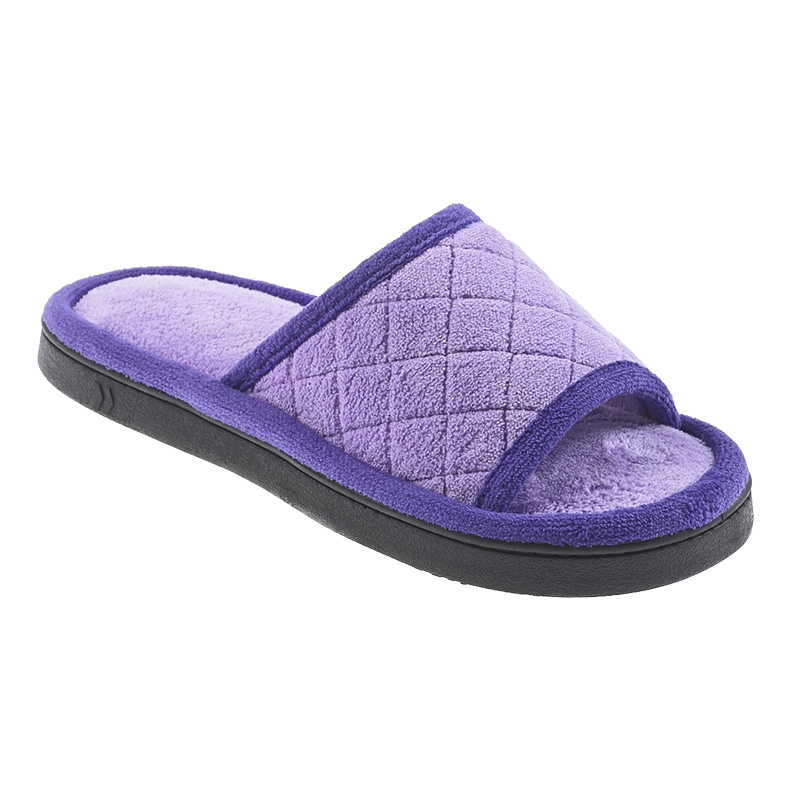Isotoner Microterry Quilted Clog Slipper
