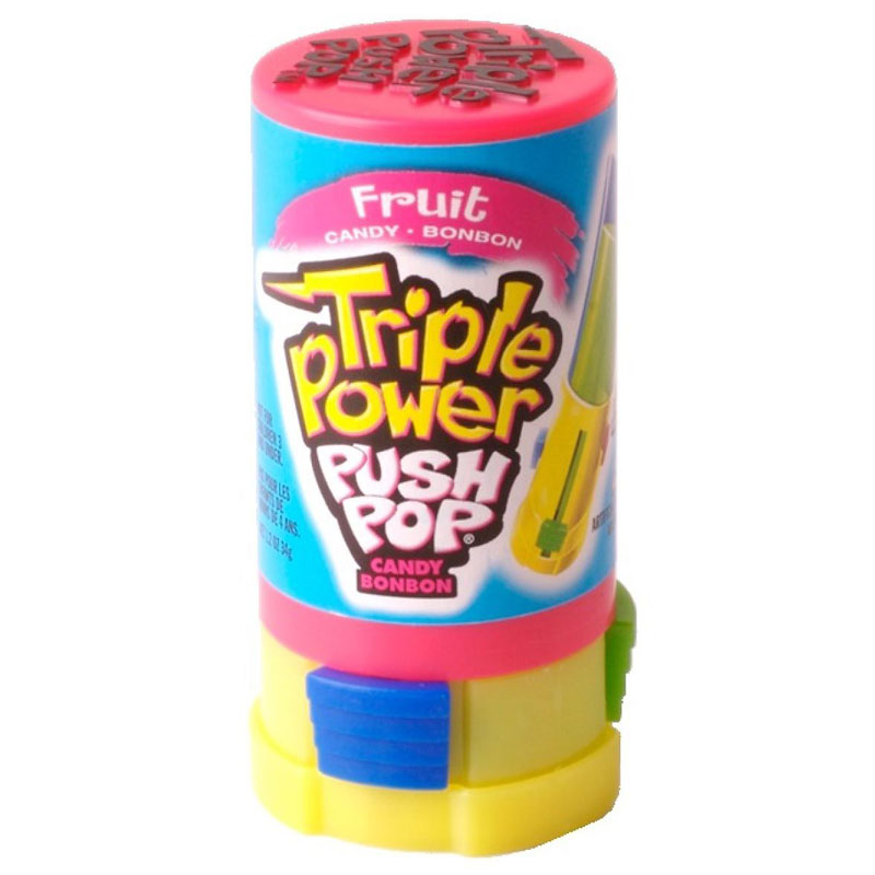 Topps Triple Power Push Pop - Assorted - 34g