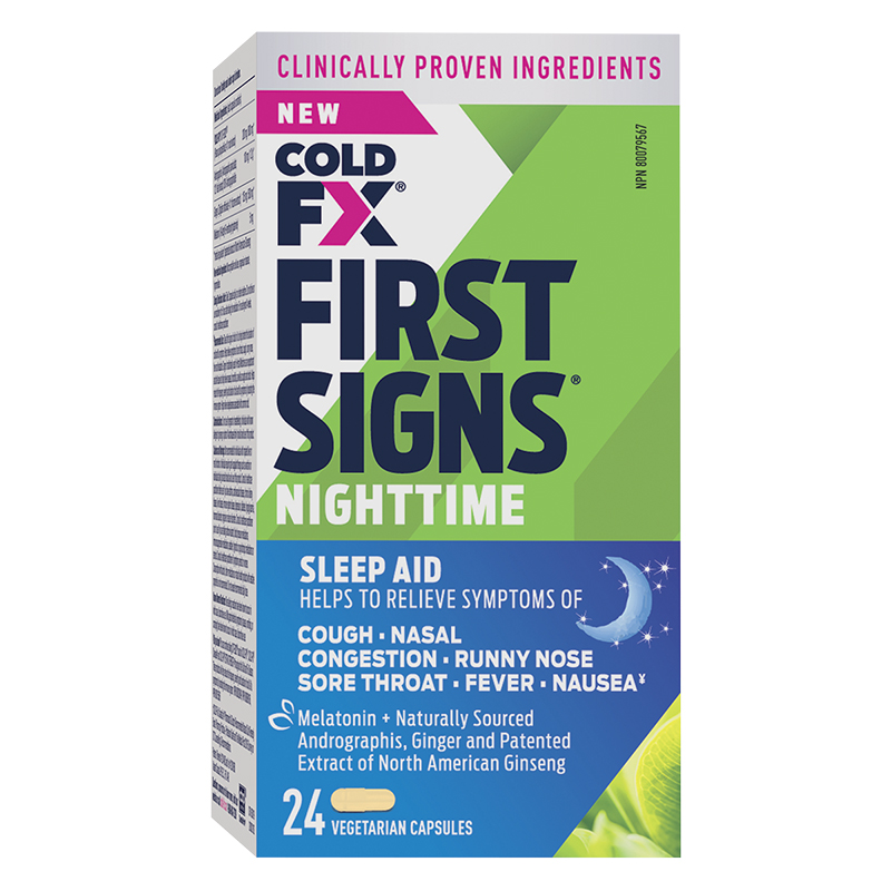 Cold-FX First Signs - Nighttime - 24's