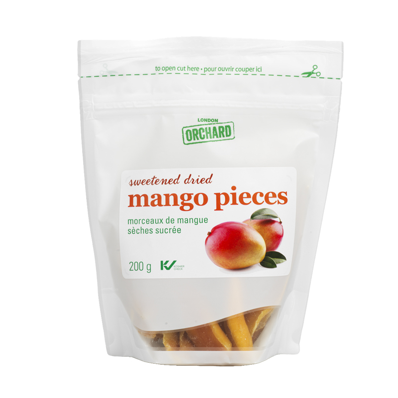 London Orchard Sweetened Dried Mango Pieces - 200g