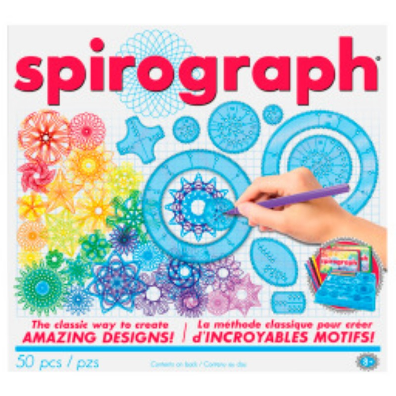 Spirograph Drawing Set - 30 Pieces