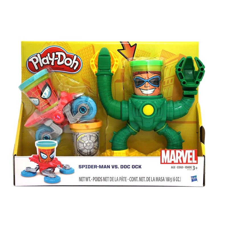 Play-Doh Marvel Spiderman vs. Doc Ock