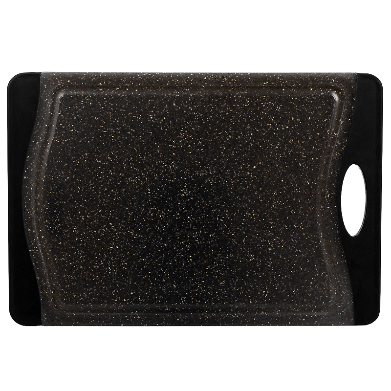 London Drugs Cutting Board - Black - 36.5 x 25 x 1cm
