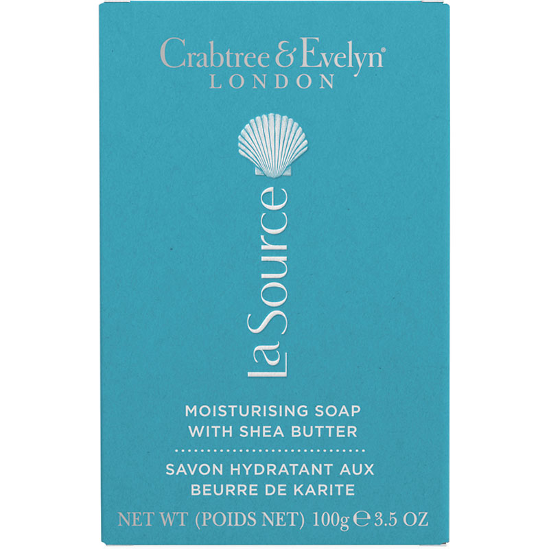 Crabtree & Evelyn La Source Moisturising Soap with Shea Butter - 100g
