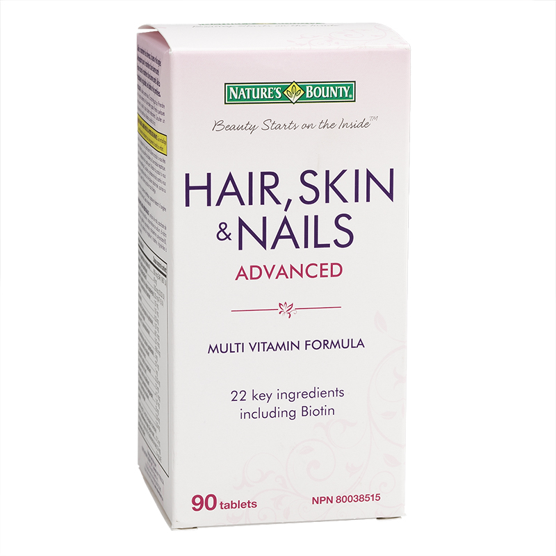 Natures Bounty Advanced Hair Skin and Nails - 90's