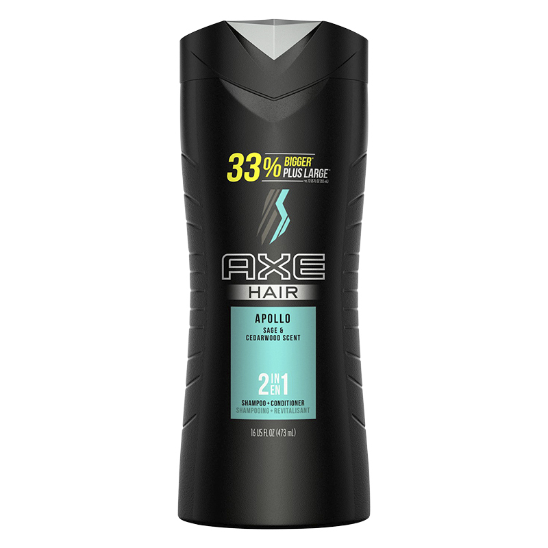 Axe Apollo 2 in 1 Shampoo + Conditioner - Sage & Rosewood - 473ml
