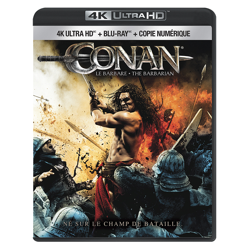 Conan the Barbarian (2011) - 4K UHD Blu-ray