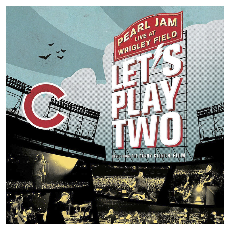 Soundtrack - Pearl Jam Live at Wrigley Field: Let's Play Two - 2 LP Vinyl