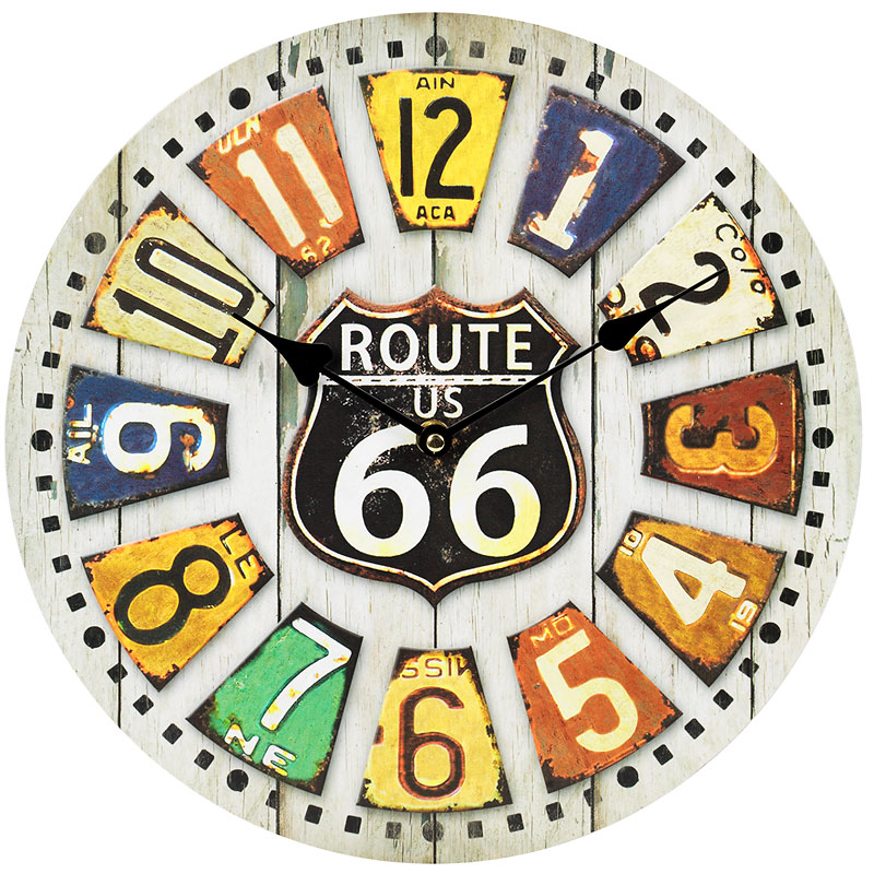 London Drugs Wall Clock - Route 66