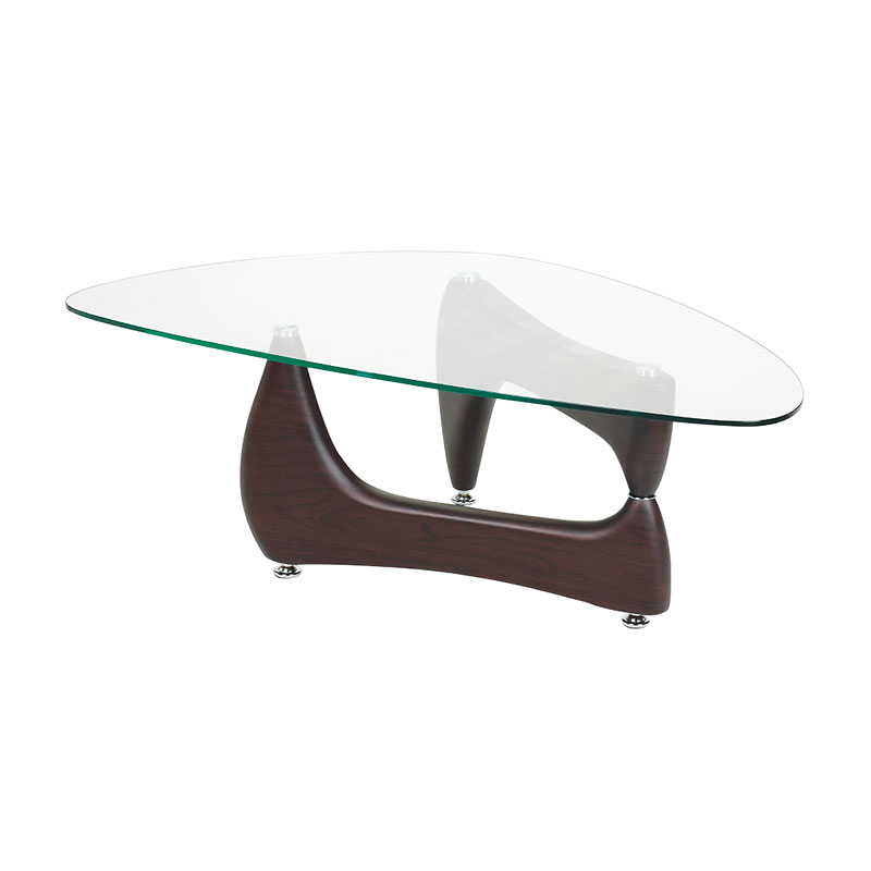 London Drugs Glass Top Coffee Table - 120 x 69 x 41cm